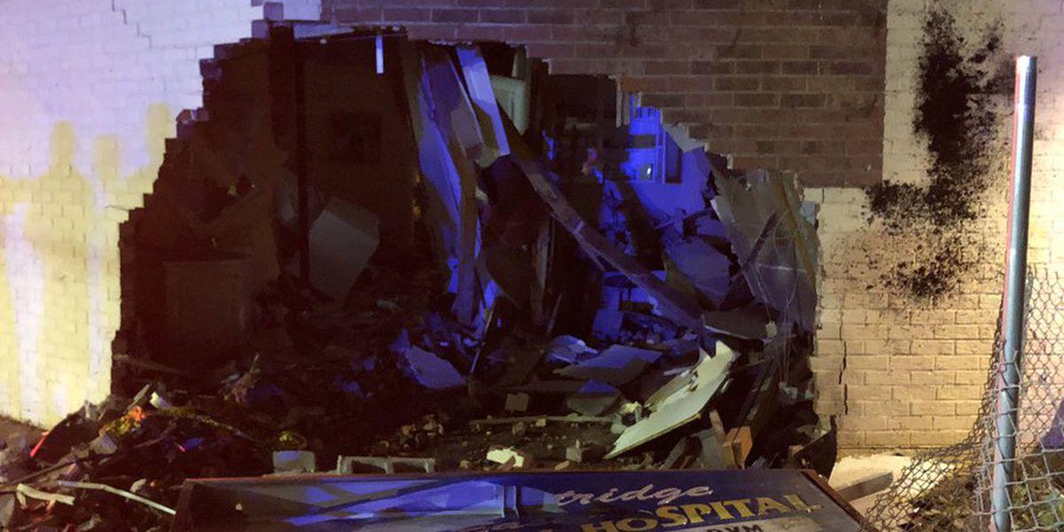 Man killed after crashing car into Gastonia animal hospital identified