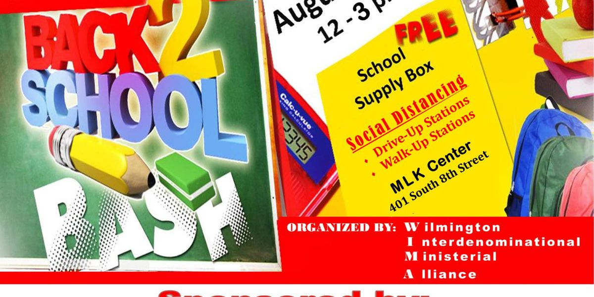 FREE school supplies offered this weekend, compliments of Novant Health and WIMA