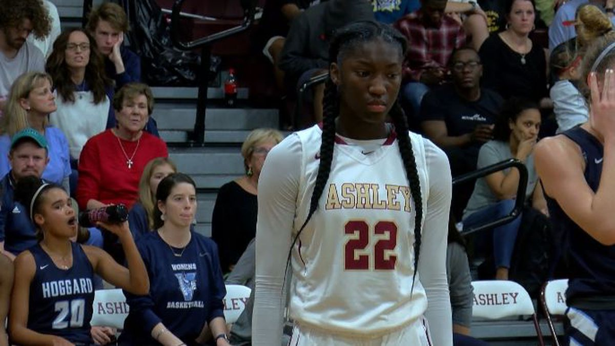 Ashley's Saniya Rivers named WECT Athlete of the Week