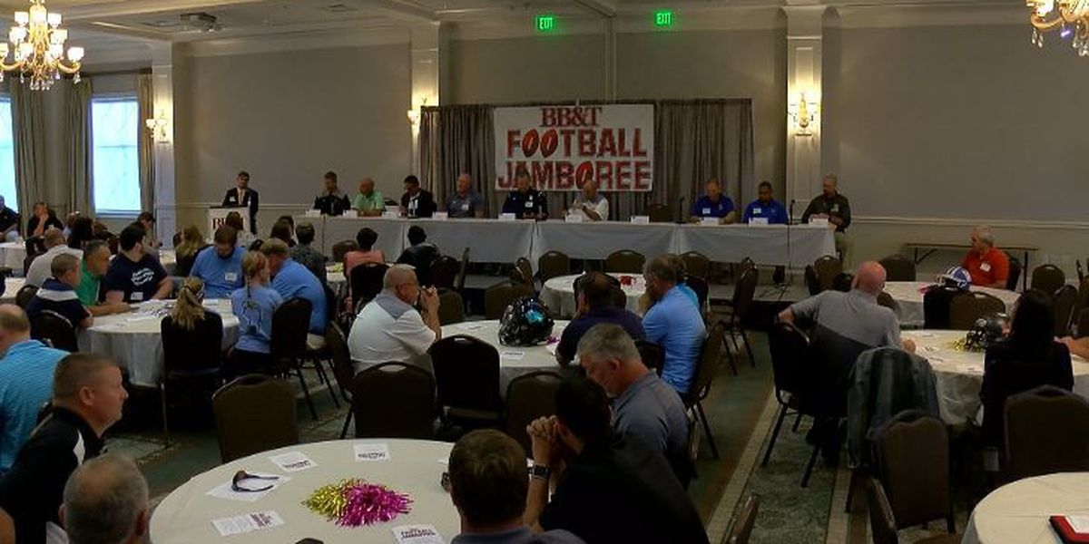 Conference realignment the talk at the 31st annual BB&T Football Jamboree luncheon