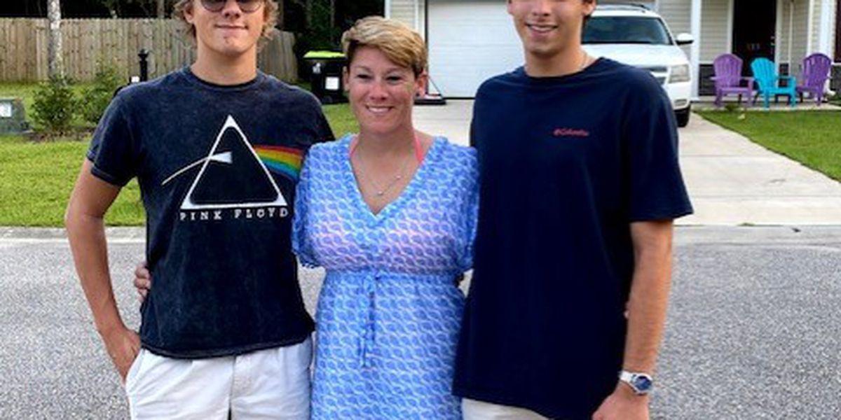 Police officer's sons severely injured in crash