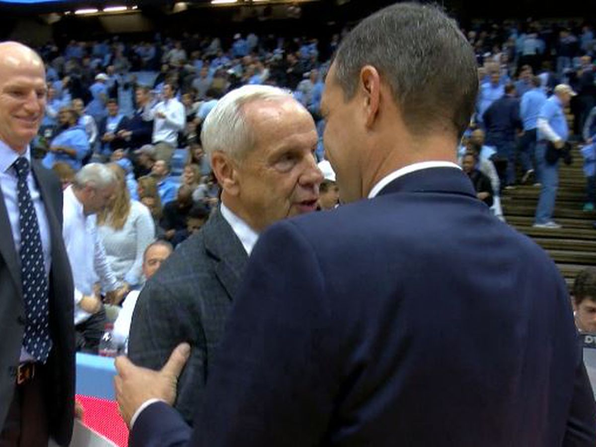Seahawk and Tar Heel head coaches share special bond