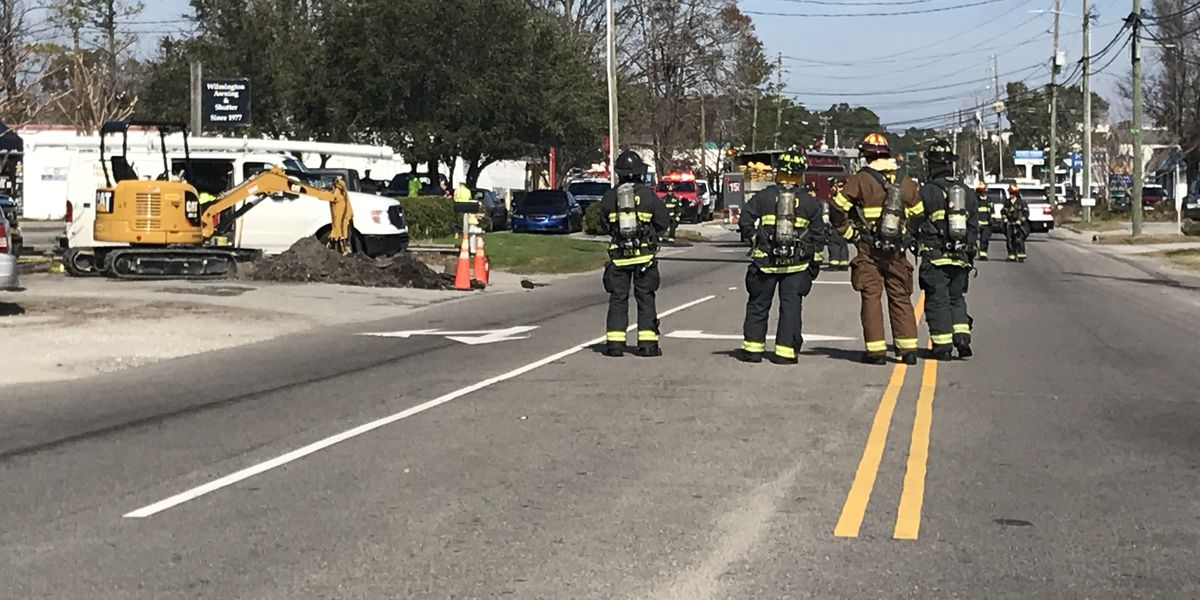 TRAFFIC ALERT: Crews stop gas leak; South Kerr Ave. reopens
