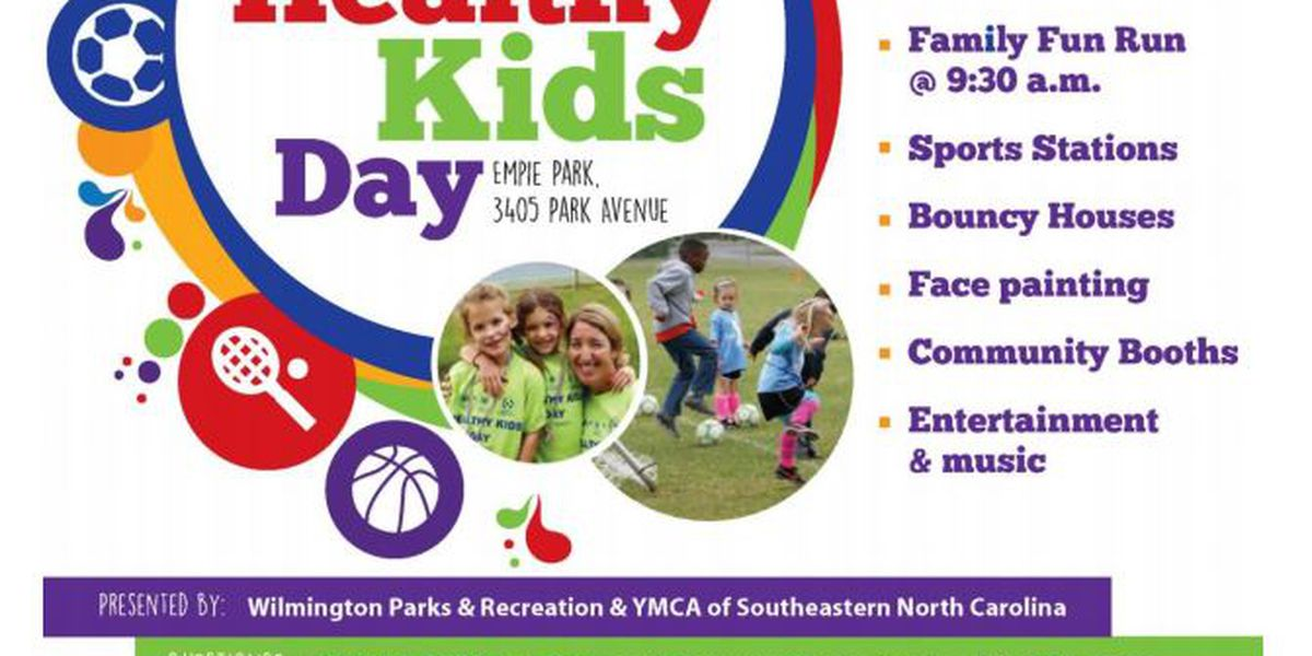 Healthy Kids Day slated for Empie Park this weekend