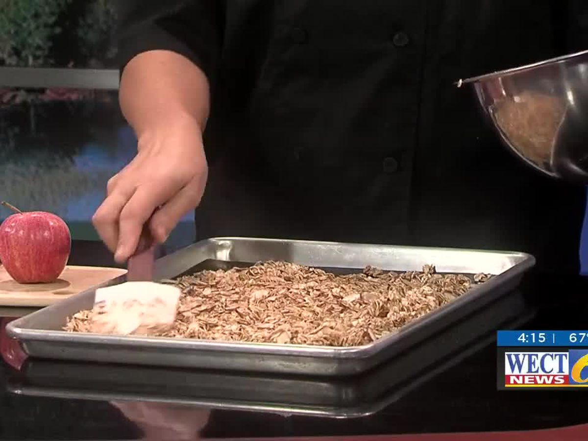 First at Four recipe: Maple-Almond-Cinnamon Granola