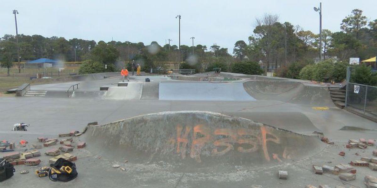 Carolina Beach skate park closed for repairs
