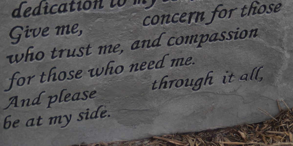Biblical message causes backlash, Tega Cay officials cover 'Lord' after neighbors raise concerns