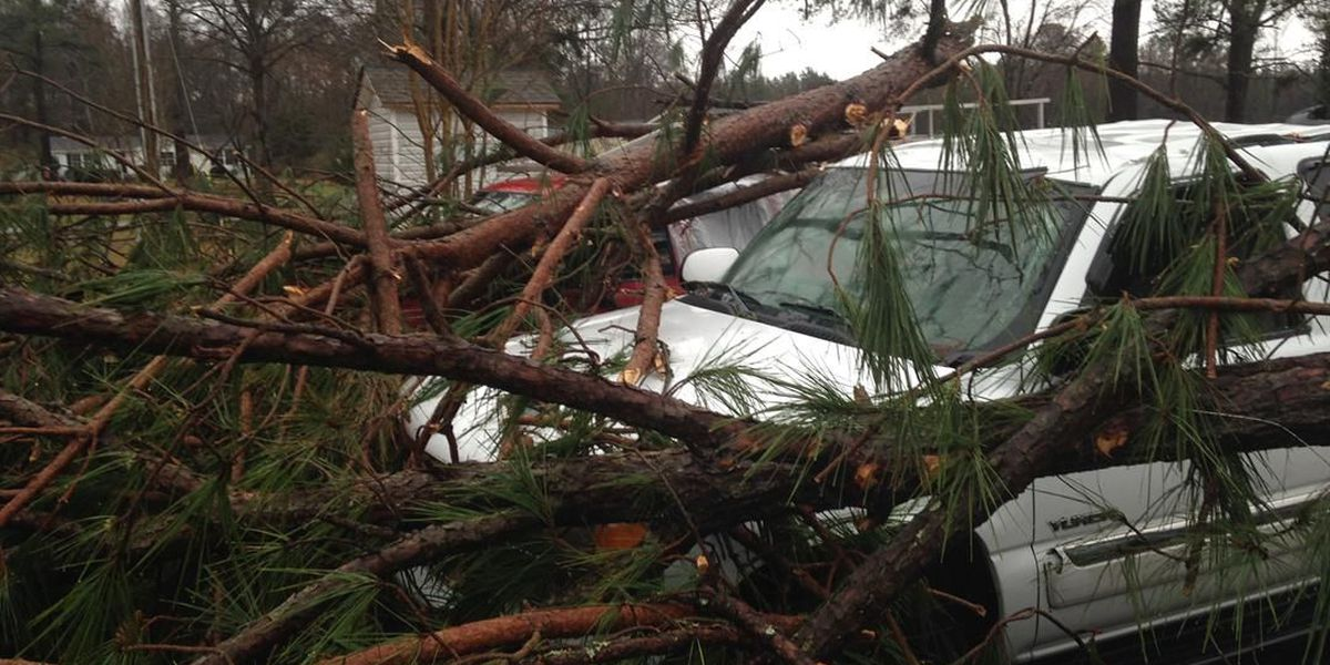 NWS: EF-1 tornado confirmed in Brunswick County