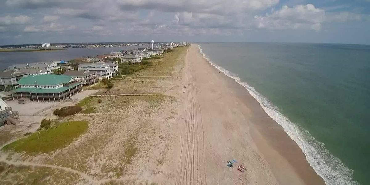 SKY TRACKER: Beauty shot of Wrightsville Beach