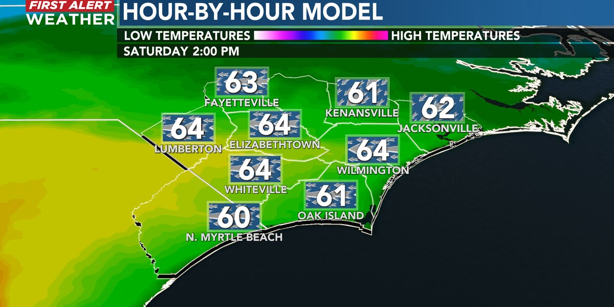 First Alert Forecast: a cooler turn for the weekend