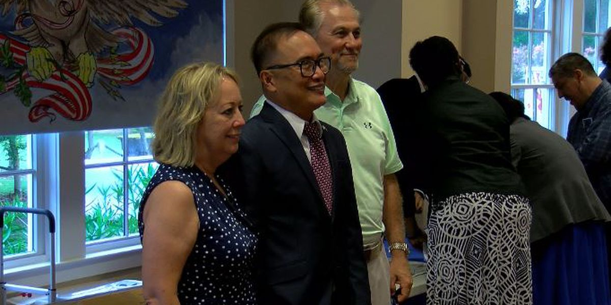 American dream realized for 74 people at naturalization ceremony in Southport