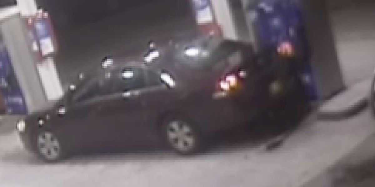VIDEO: Gas station hit and run