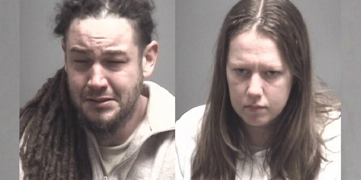 Couple facing drug charges after crashing into Wilmington home, later found passed out in car at nearby store