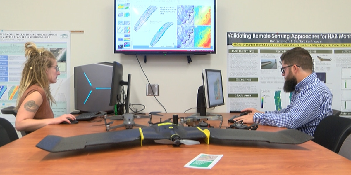 UNCW drone research group collaborates with local NC community