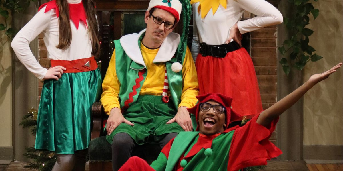 'The Santaland Diaries' returns to the stage in a Christmastime tradition