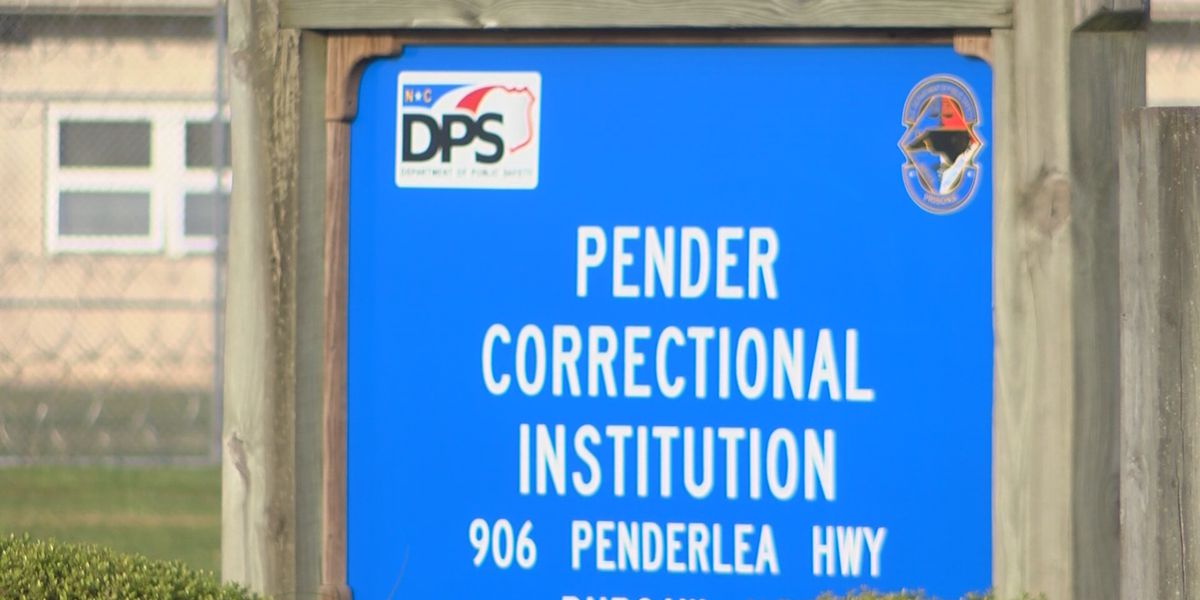 Inmate at Pender Correctional dies after contracting COVID-19