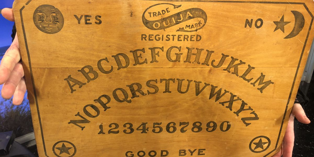 Halloween night seances planned with Harry Houdini's Ouija board