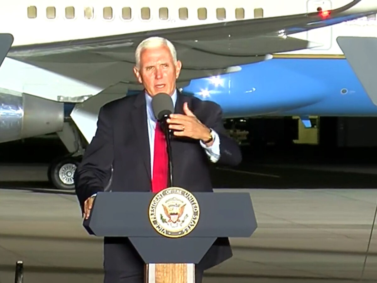 Vice President Pence holds rally at ILM