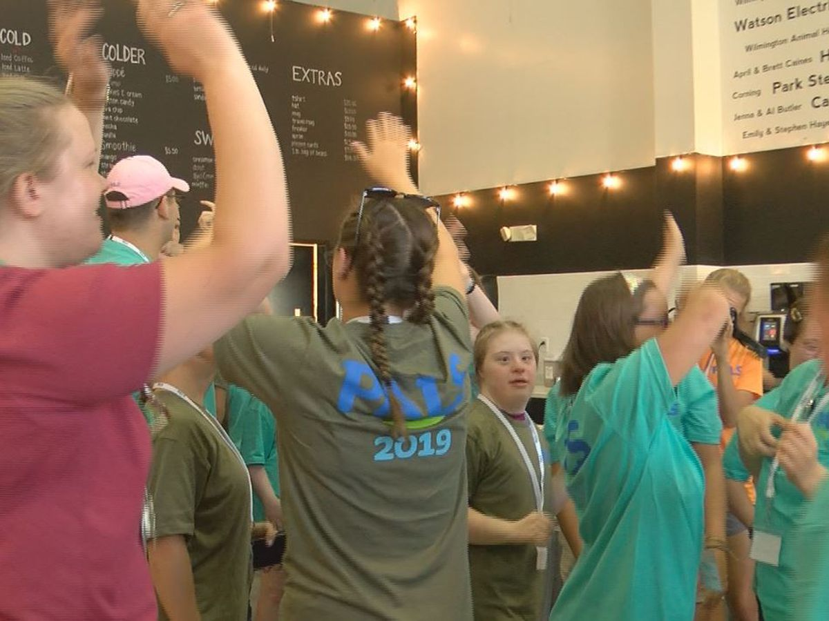 Bitty & Beau's Coffee welcomes some new PALS to Monday morning dance party