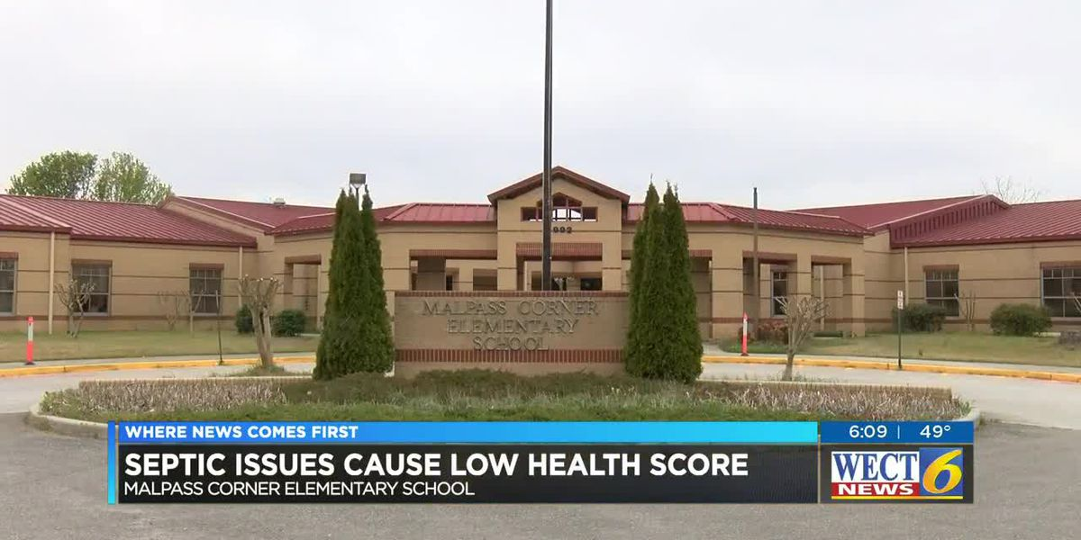 School receives lower than normal heath inspection score; officials say they're fixing issues