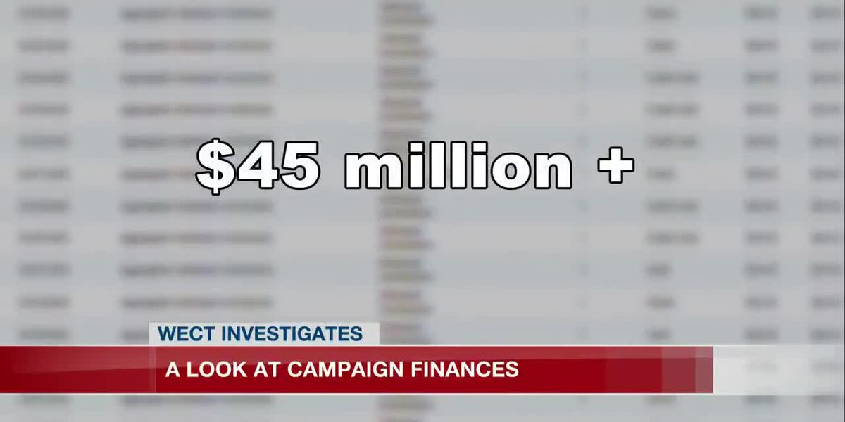 A look at campaign finances reveals some eye-popping numbers