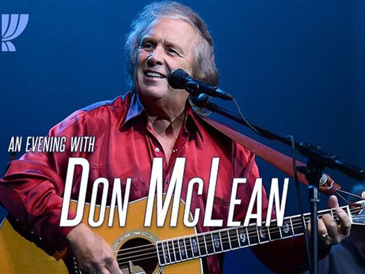 Don McLean Ticket Facebook Giveaway 6/24/19