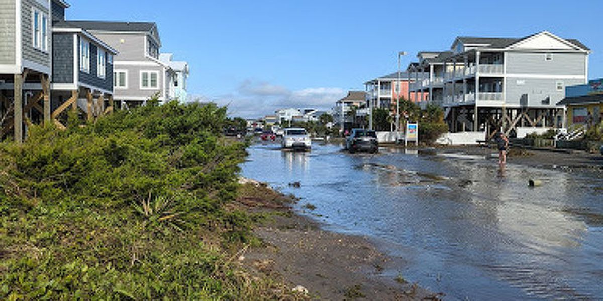 Oak Island tells residents to stop all sand moving activities, mandatory evacuation and curfew in place for 'restricted area'