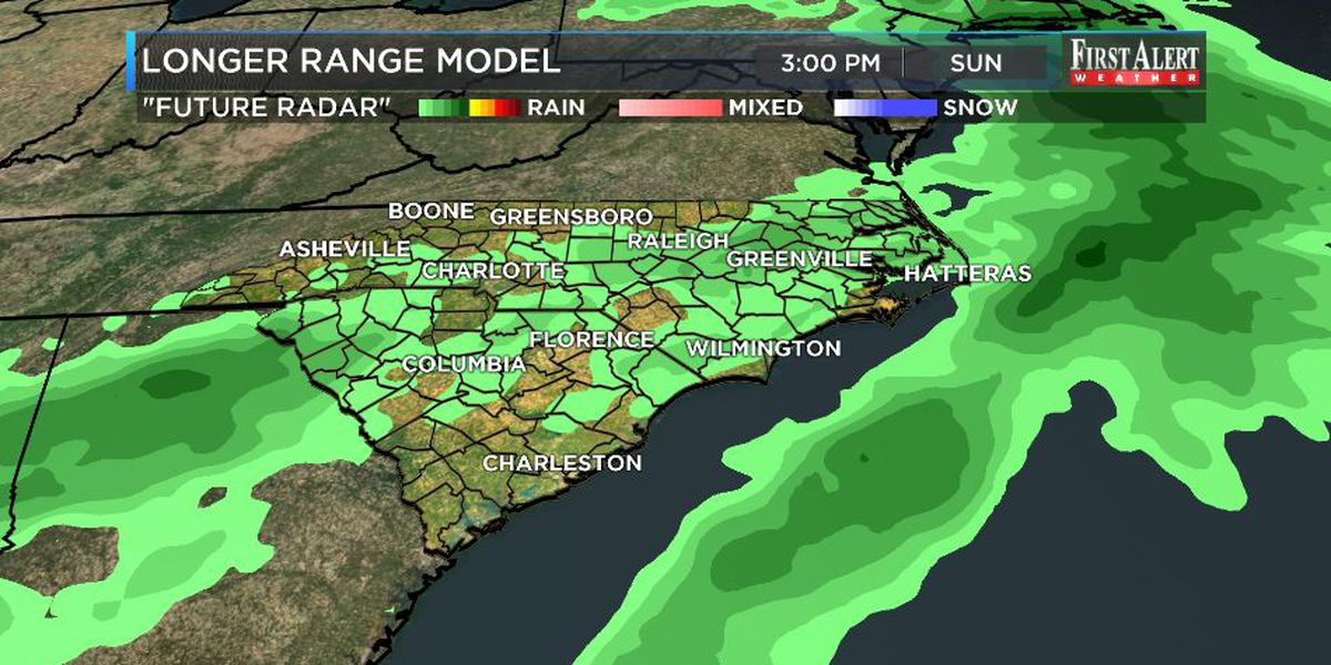 First Alert Forecast: temps soaring in the short term, storm chance to monitor in the longer range