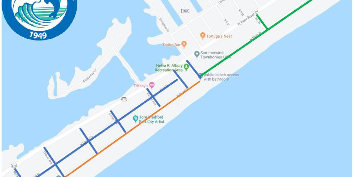 Paving project in Surf City scheduled to begin this week