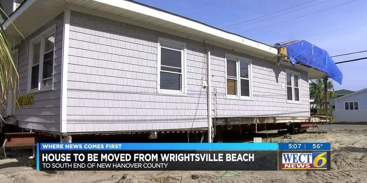 TRAFFIC ALERT: House being moved from Wrightsville Beach to River Road on Sunday likely to cause del