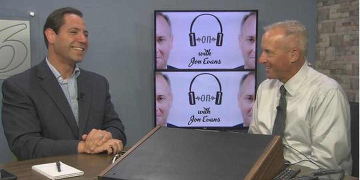 """WECT Chief Meteorologist Gannon Medwick is the guest on this week's """"1on1 with Jon Evans"""" podcast"""