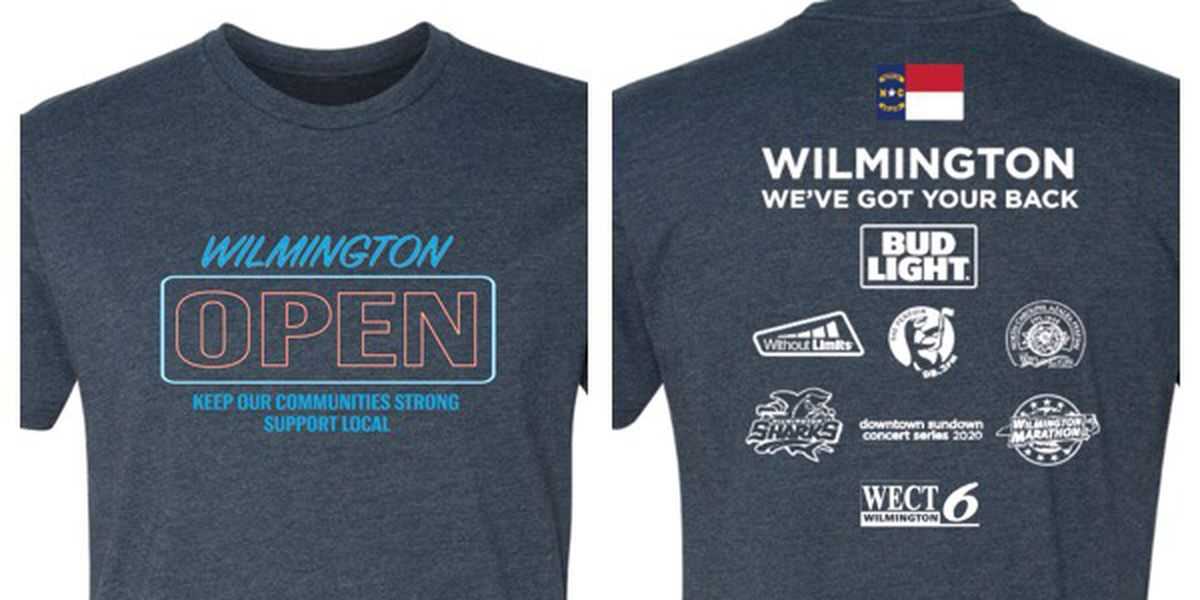 Wilmington group organizes t-shirt fundraiser to help struggling restaurants due to pandemic