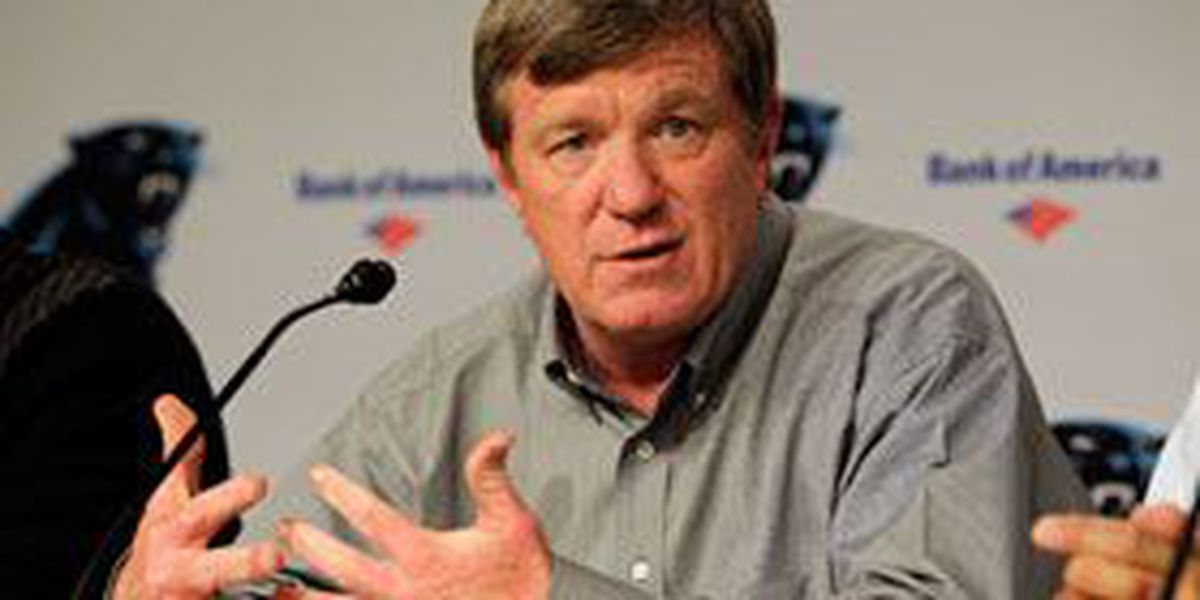 Panthers part ways with general manager Marty Hurney