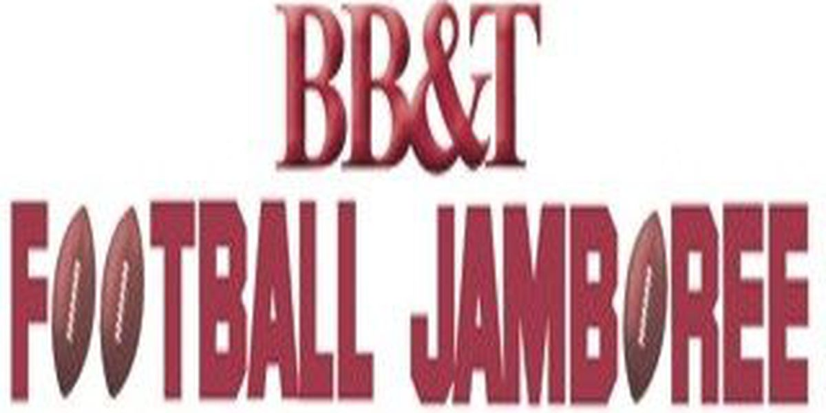 2018 BB&T Football Jamboree schedule