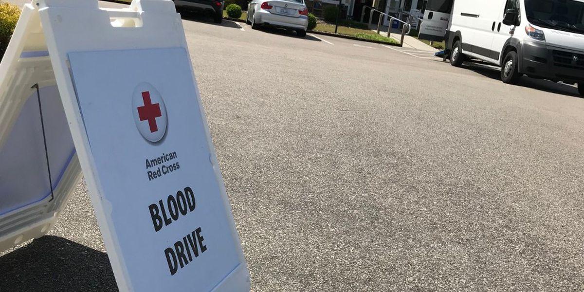 Red Cross hosts neighborhood blood drive