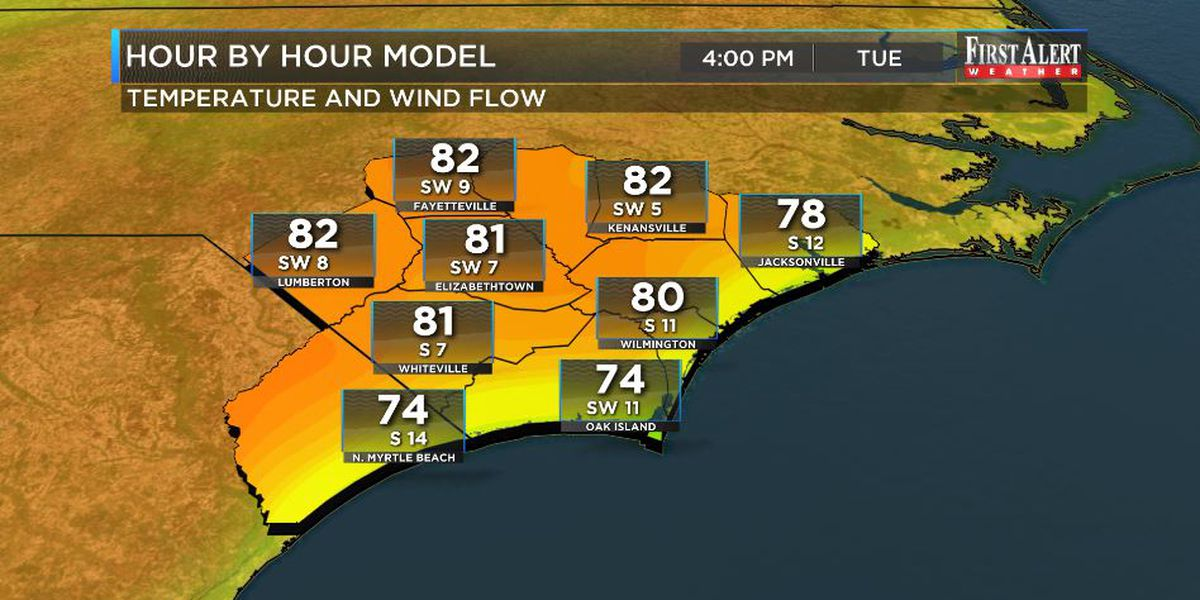 First Alert Forecast: 80s back in the mix
