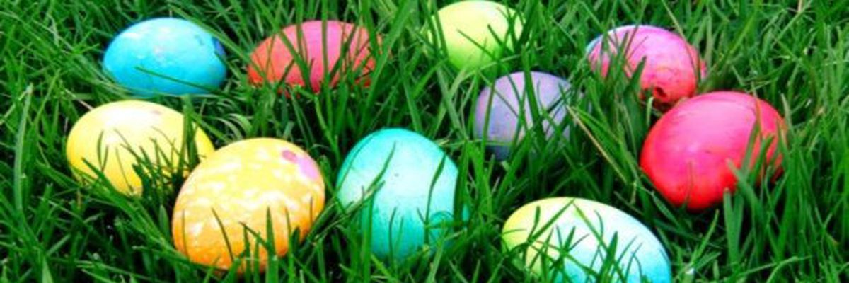 Easter egg hunt for adults only