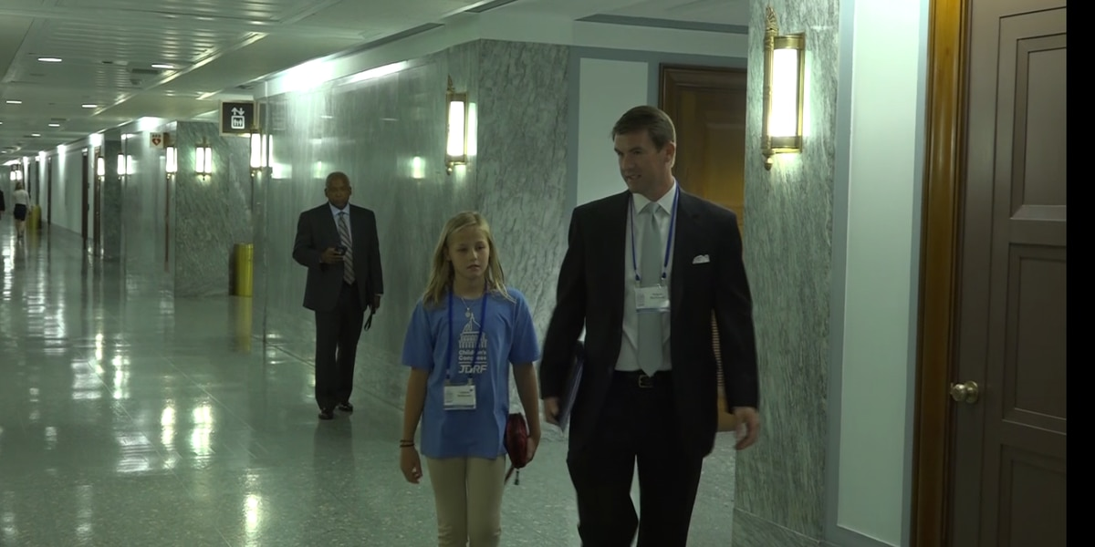 North Carolina teen looks to Congress for a cure