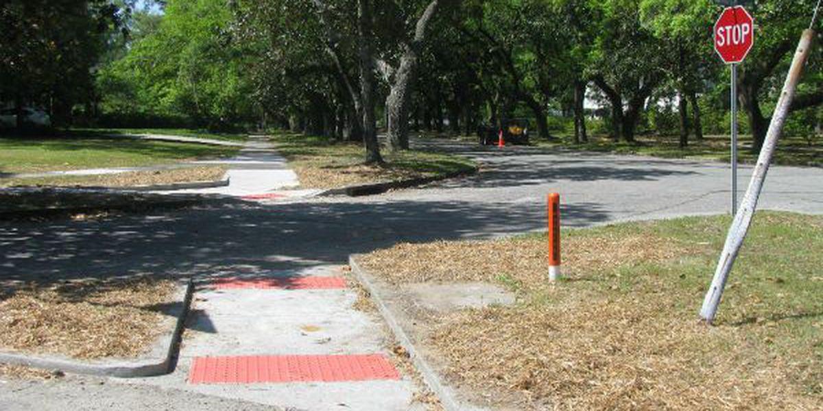 Sidewalk, ADA ramp project to begin next month