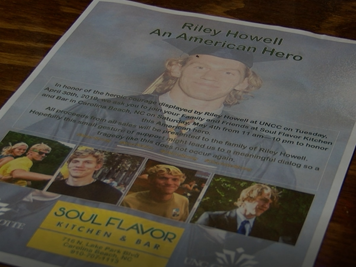 Fundraiser held for family of UNC Charlotte shooting victim Riley Howell