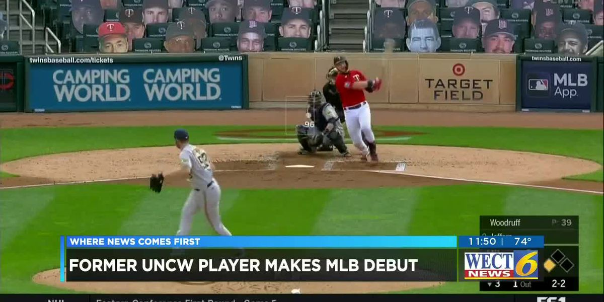 Former UNCW player plays major league debut