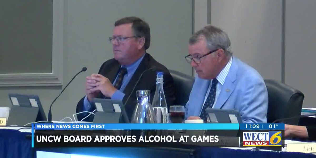 UNCW votes to allow alcohol sales at athletic events