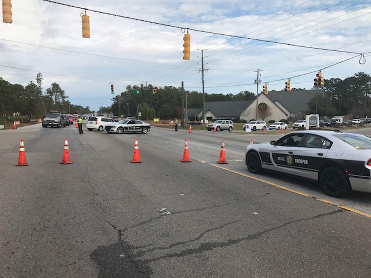 Gas leak causes shutdown of portion of Market Street