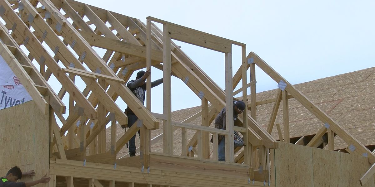 High lumber prices drive up house building costs