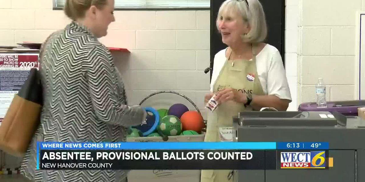 With seats in the balance, New Hanover Co. election officials approve absentee, provisional ballots; Final counts to be tallied Friday