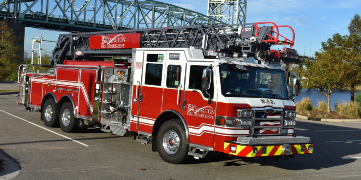 Wilmington Fire Department to roll out new $1.2 million fire truck