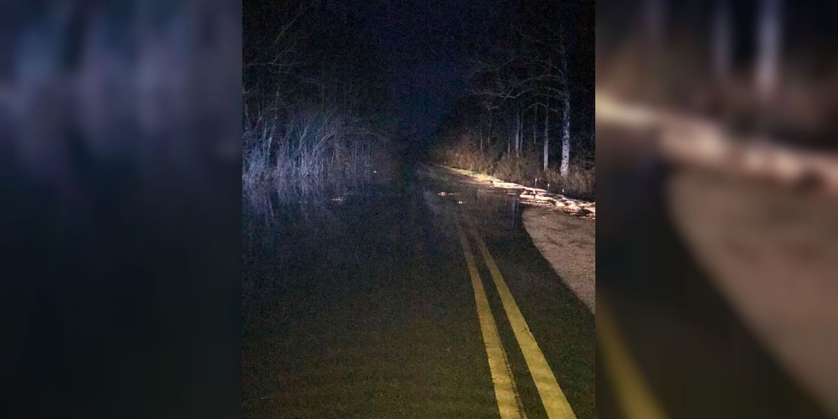 TRAFFIC ALERT: Road washed out in Brunswick Co.