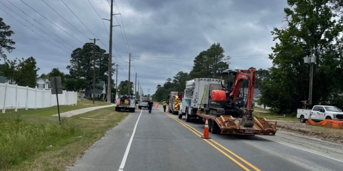 TRAFFIC ALERT: Portion of Independence Blvd. closed due to gas leak