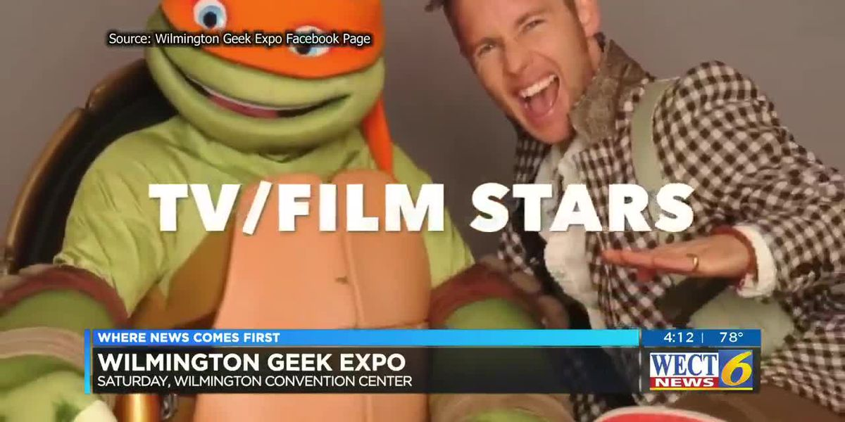 Plan to geek out this weekend at the Wilmington Geek Expo