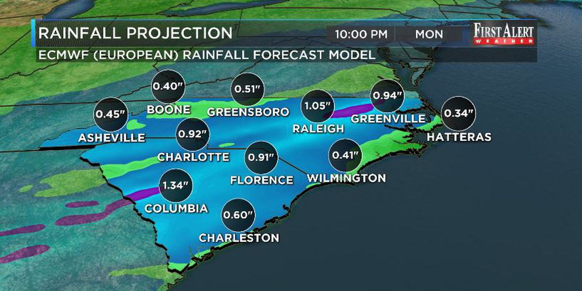 First Alert Forecast: Unsettled weather to end the weekend